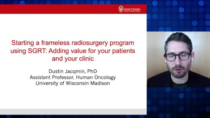 Starting a Frameless Radiosurgery Program Using SGRT