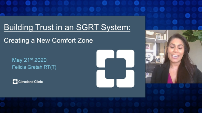 BUILDING TRUST IN AN SGRT SYSTEM: CREATING A NEW COMFORT ZONE