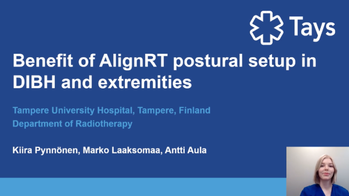Benefit of AlignRT postural set up in DIBH and extremities