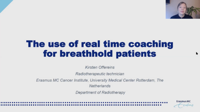 DIBH Use of RealTime Coaching to improve the accuracy of the deep inspiration breath