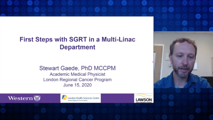 FIRST STEPS WITH SGRT IN A MULTI-LINAC DEPARTMENT