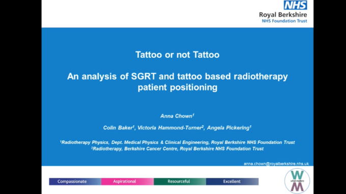 Tattoo or not Tattoo - An analysis of SGRT and tattoo-based radiotherapy patient positioning
