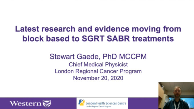 Latest research and evidence moving from block-based to SGRT SABR treatments