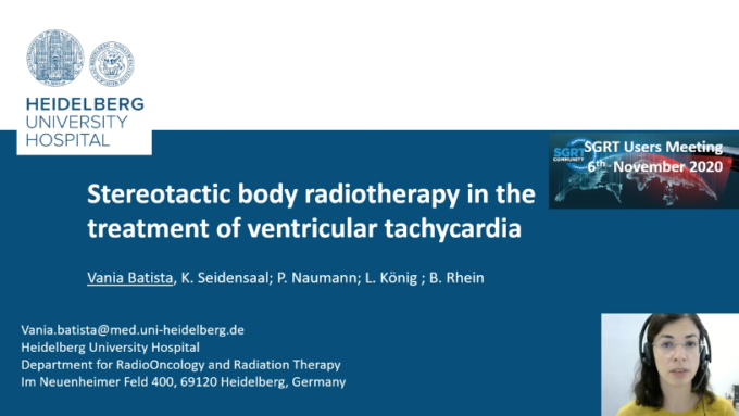 Stereotactic body radiotherapy in the treatment of ventricular tachycardia