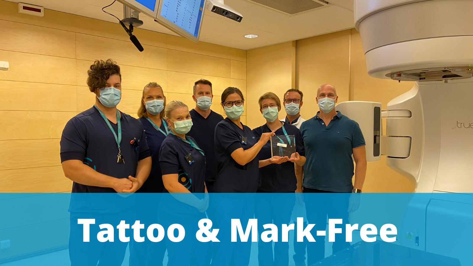 Docrates go tattoo and mark-free with AlignRT