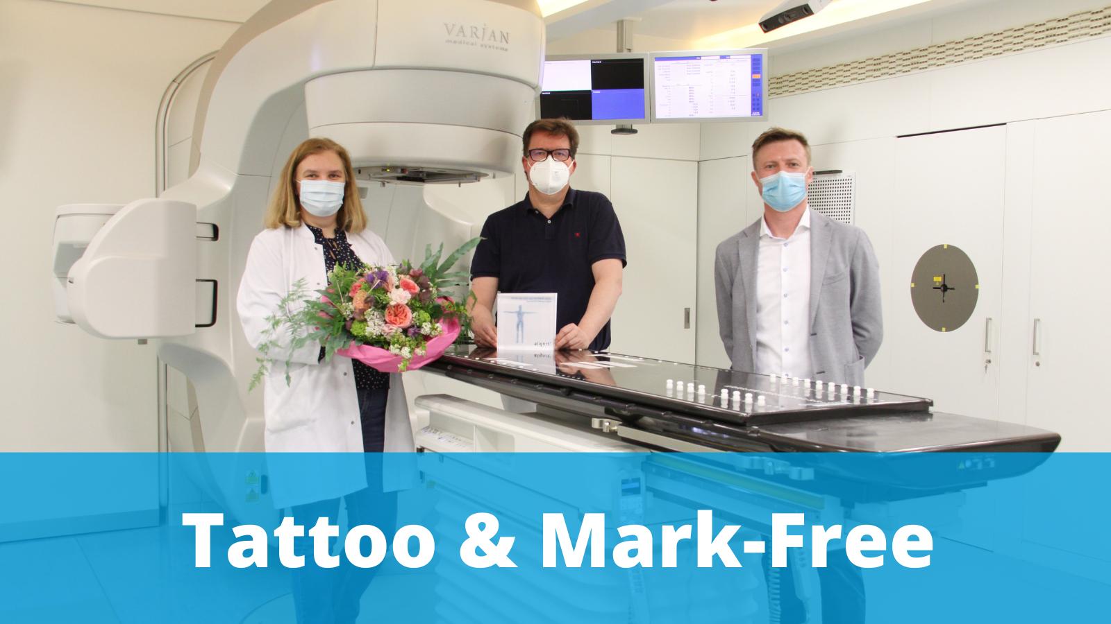 Sana Klinikum Offenbach go tattoo and mark-free with AlignRT