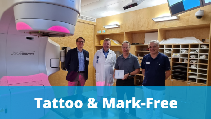 Radio-Onkologiezentrum Biel Switzerland go tattoo and mark-free with AligRT