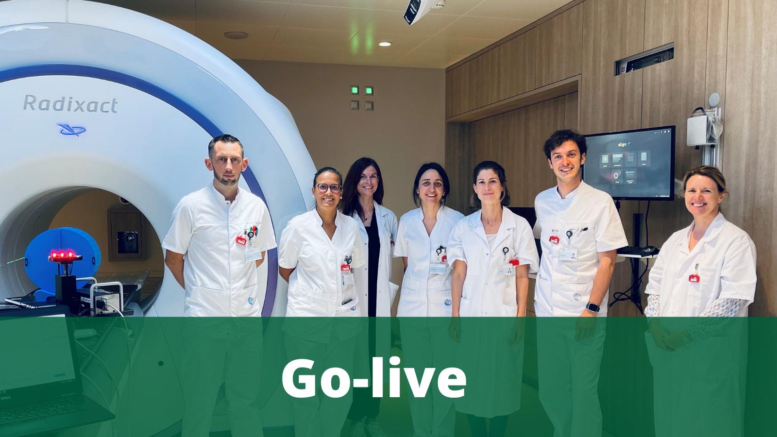 Clinique Générale Beaulieu Switzerland go live with AlignRT SGRT Technology